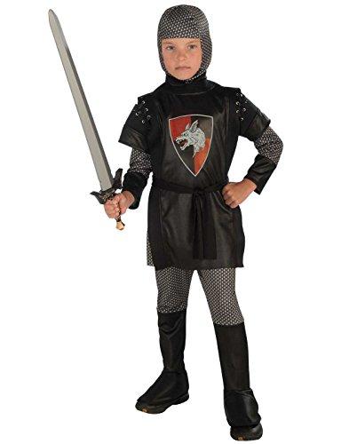 Boy's Knight Costume, Small ()