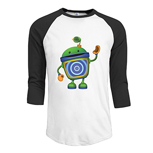Team Umizoomi Men's Classic 3/4 Sleeve Baseball T Shirt