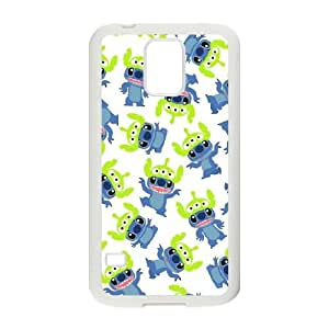 Disneys Lilo And Stitch Samsung Galaxy S5 Cell Phone Case White yyfabc-452858