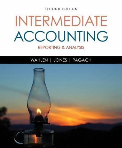 Price comparison product image Intermediate Accounting: Reporting and Analysis