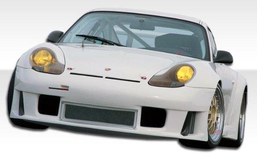 1999-2001 Porsche 996 C2/C4 Duraflex GT3-R Look Widebody Kit - Includes GT3-R Look Widebody Front Bumper (105400), GT3-R Look Widebody Front Splitter (105401). GT3-R Look Widebody Sideskirts (105402), GT3-R Look Widebody Rear Bumper (105403), GT3-R Look Widebody Front fenders (105404), GT3-R Look Widebody Rear Fender flares (105405) - Duraflex Body Kits ()