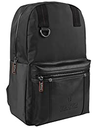 Buffalo David Bitton BUF078702CA Breaker Backpack, Black, United States Carry-On