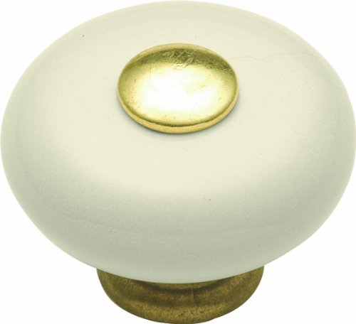 Light Almond Knob (Hickory Hardware P222-LAD 1-1/4-Inch Tranquility Cabinet Knob, Light Almond)