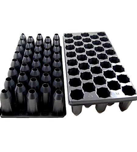 38 Deep Cell Nursery Plug Tray-Tree Tube-Propagation/Seed Starting Tray - 10 pack