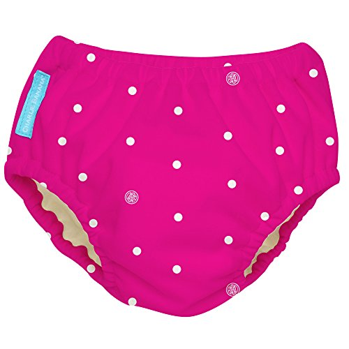 Charlie Banana Extraordinary Training Pants, Hot Pink Polka Dot