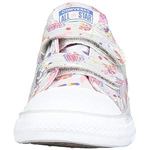 Converse Unisex-Child Chuck Taylor All Star Llama Print Velcro Low Top Sneaker