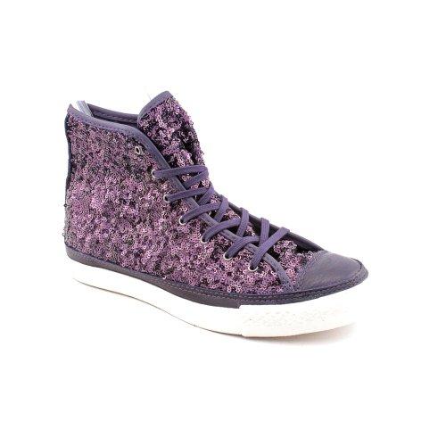 3090886b8ece66 Converse Chuck Taylor Premium Sequins 527881C-503 nightshade color (dark  purple) - Buy Online in Oman.