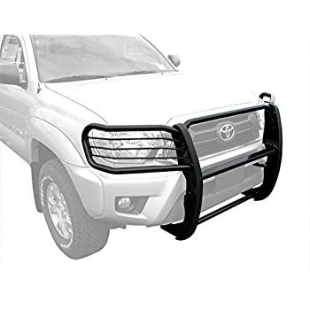TAC Grill Guard Fit 2016-2019 Toyota Tacoma Pickup Truck Black Front Brush Bumper Guard Push Guard Off Road Automotive Off Road Exterior Accessories Incl. 2018 Tacoma with Toyota Safety Sense P
