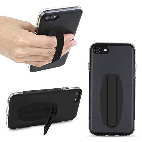 Gear Beast Universal Cell Phone Grip - Ultra Slim Elastic Finger Holder & Phone Stand
