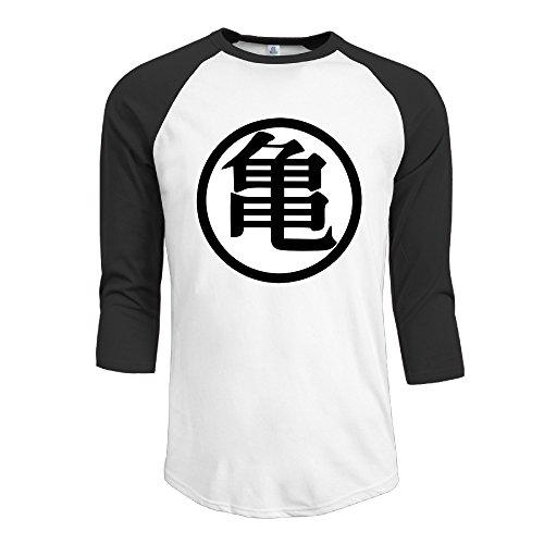 Boyfriend Dragon Ball Z Kame Goku Symbol 3/4 Raglan Shirts Baseball Jerseys