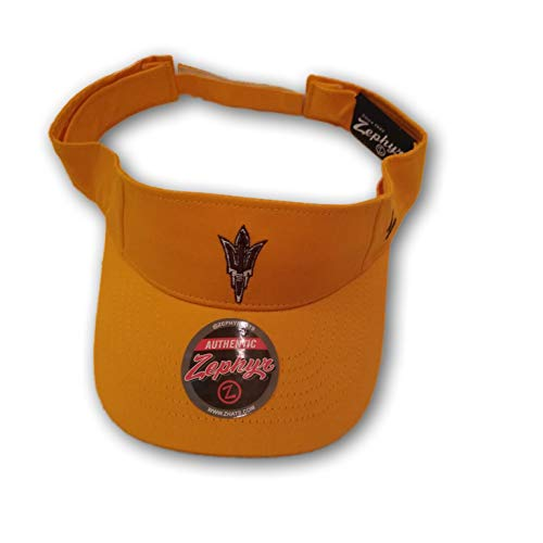 Football Fanatics Arizona State Sun Devils Visor Hat Cap Dri Fit Polyester Performance ()