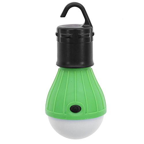 Price comparison product image Anidalec Mini Outdoor 3 LED 800LM Camping Tent Bulb Light Emergency Lamp (Green)