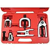 Anytime Tools FRONT END BALL JOINT SERVICE TOOL KIT SET with PITMAN ARM PULLER and Ball Joint Separator