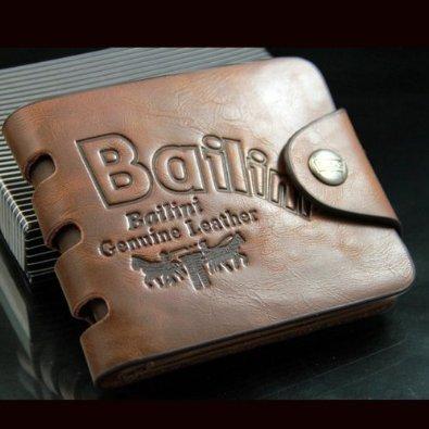 d3bee Cartera billetera cuero genuino y piel hombre Bailini monedero (*Alta calidad*): Amazon.es: Zapatos y complementos