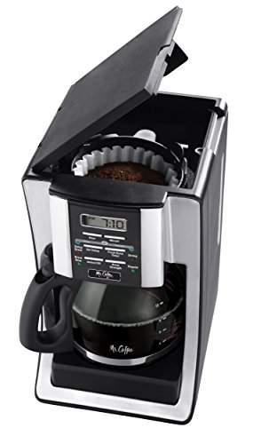 Mr. Coffee 12-Cup Programmable Coffee Maker, Bundle with 1...