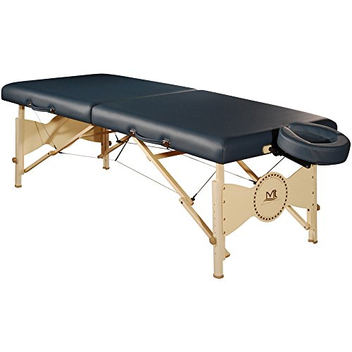 Mt Massage Midas Standard 30'' Professional Portable Massage Table Package (Agate Blue) (Table Package Agate)