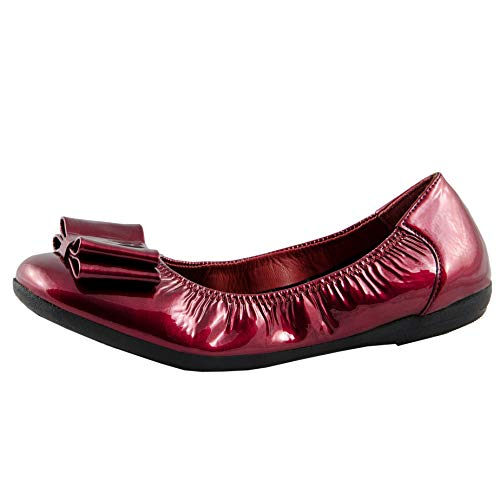 Ballerine Rosso Donna Shoes Red Patent cow Marc 00837 Janine zqESxvwwT