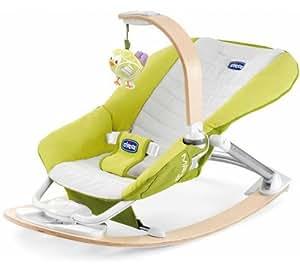 Chicco I Feel - Silla balancín para bebé, color verde
