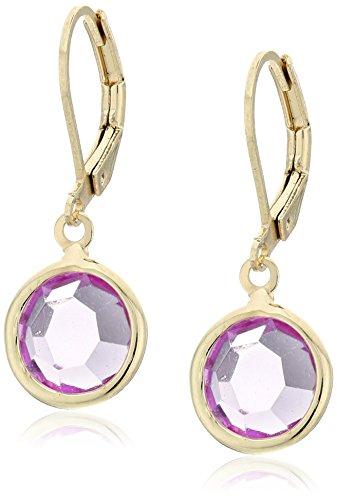 1928 Jewelry Gold-Tone Round Drop Earrings