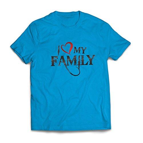 Camisetas Hombre Camisas de diseñador únicas Muestran tu Amor: increíbles Conjuntos a Juego con la Familia (X-Large Azul...