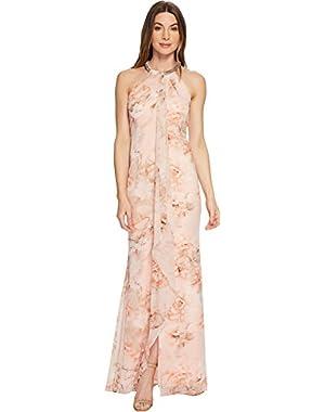 Womens Floral Maxi CD8BLP8W