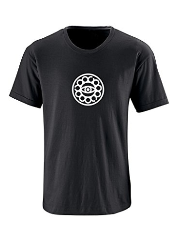 Eyes Adult Black T-shirt (Grab A Smile Doctor Strange Eye Adult Short Sleeve 100% Cotton T-Shirt Black)