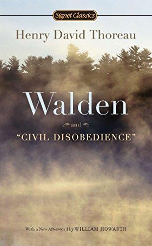 Pdf Literature Walden and Civil Disobedience