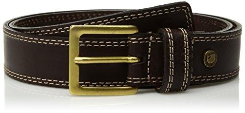 Carhartt Boys' Big Hamilton Belt, Dark Brown, 18/20