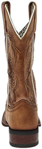 Laredo Women's Spellbound Western Boot Square Toe Tan 9 M by Laredo (Image #2)