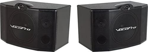 VocoPro SV-500 10-Inch 3-Way Vocal Speaker Pair