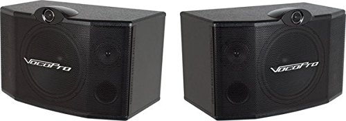 VocoPro SV-500 10-Inch 3-Way Vocal Speaker (Pair)
