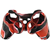 Hytech Plus PS3 Controller Skin (Red/Black)