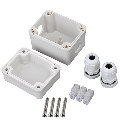 Outdoor Indoor Plastic Waterproof Electric Project Box Clear