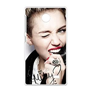YYYT Miley Cyrus Cell Phone Case for Nokia Lumia X