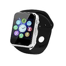 Bluetooth Smart Watch, SUNETLINK Smart Watch Phone With SIM 2G GSM, Support Sleep Monitor, Camera, Push Message, Anti Lost etc