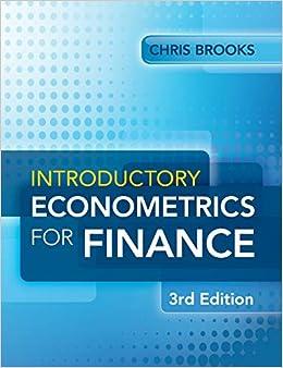 Epub Descargar Introductory Econometrics For Finance 3rd Edition