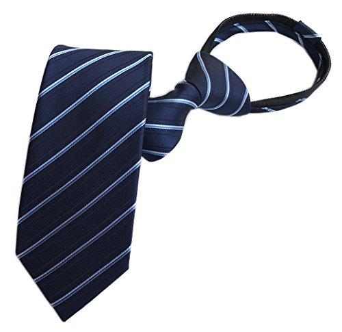 (Men's Striped Ascot Tie Uniform Silk Tie Wholesale Regular Soft Necktie)