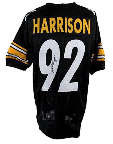 James Harrison Signed Jersey - 135754 - JSA Certified - Autographed NFL Jerseys