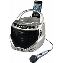 Emerson Radio GQ262 Portable CD+G Karaoke Player