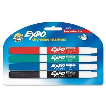 Expo Bold Color Dry Erase Markers (3 Pack)