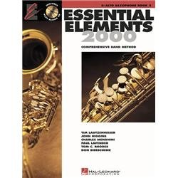 Hal Leonard Essential Elements 2000 for Alto Saxophone (Book 2 with CD) (Standard)