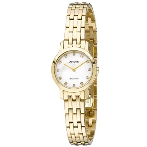 Accurist Ladies Diamond Bracelet Watch LB1580P