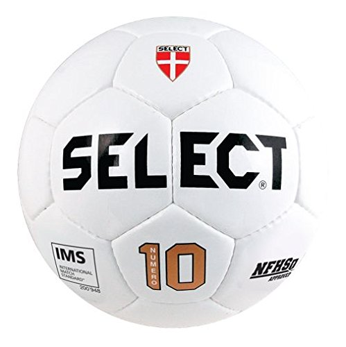 Select Sport America Numero 10 Soccer Ball, 4, White (Select Soccer Ball Brilliant)