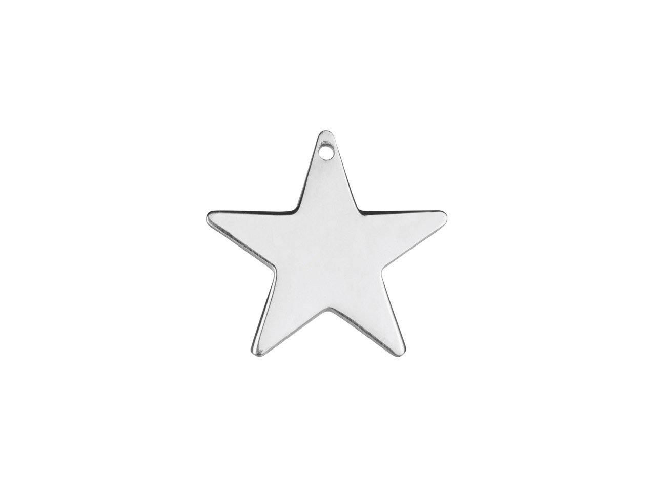 Cooksongold Sterling Silver Star 10mm Stamping Blank Pack of 5