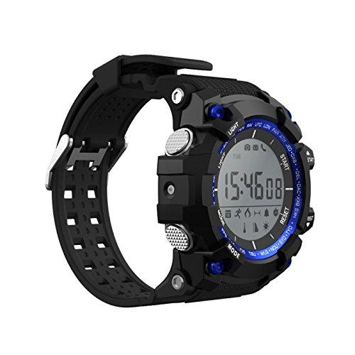Muvit I/O SportTime Reloj de Actividad y Sueño, Azul