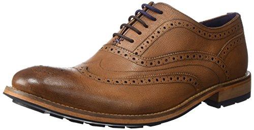 Ted Baker Men's Guri 8 Oxford, Tan, 9.5 D(M) (Brogue Shoes)