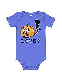 Amazingly Good Products Funny Sarcastic Halloween Jack O Lantern Costume | Love? T-Shirt
