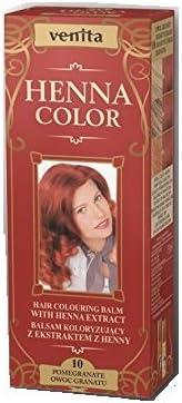 Venita Henna Color Herbal Coloring Hair Balm Granada Nº 10
