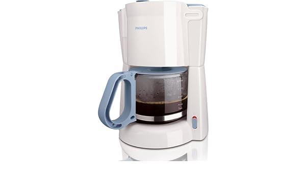 Philips HD7446/70 1,3 l 900 W Cafetera, Blanco, Azul, 0.88 m, 900 ...
