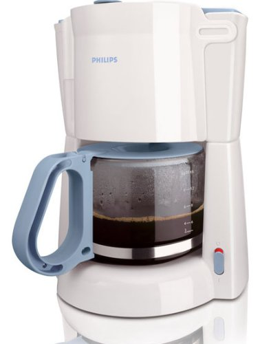Philips HD7446/70 1,3 l 900 W Cafetera, Blanco, Azul, 0.88 m ...